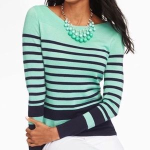 NWT Talbots Boatneck Sweater